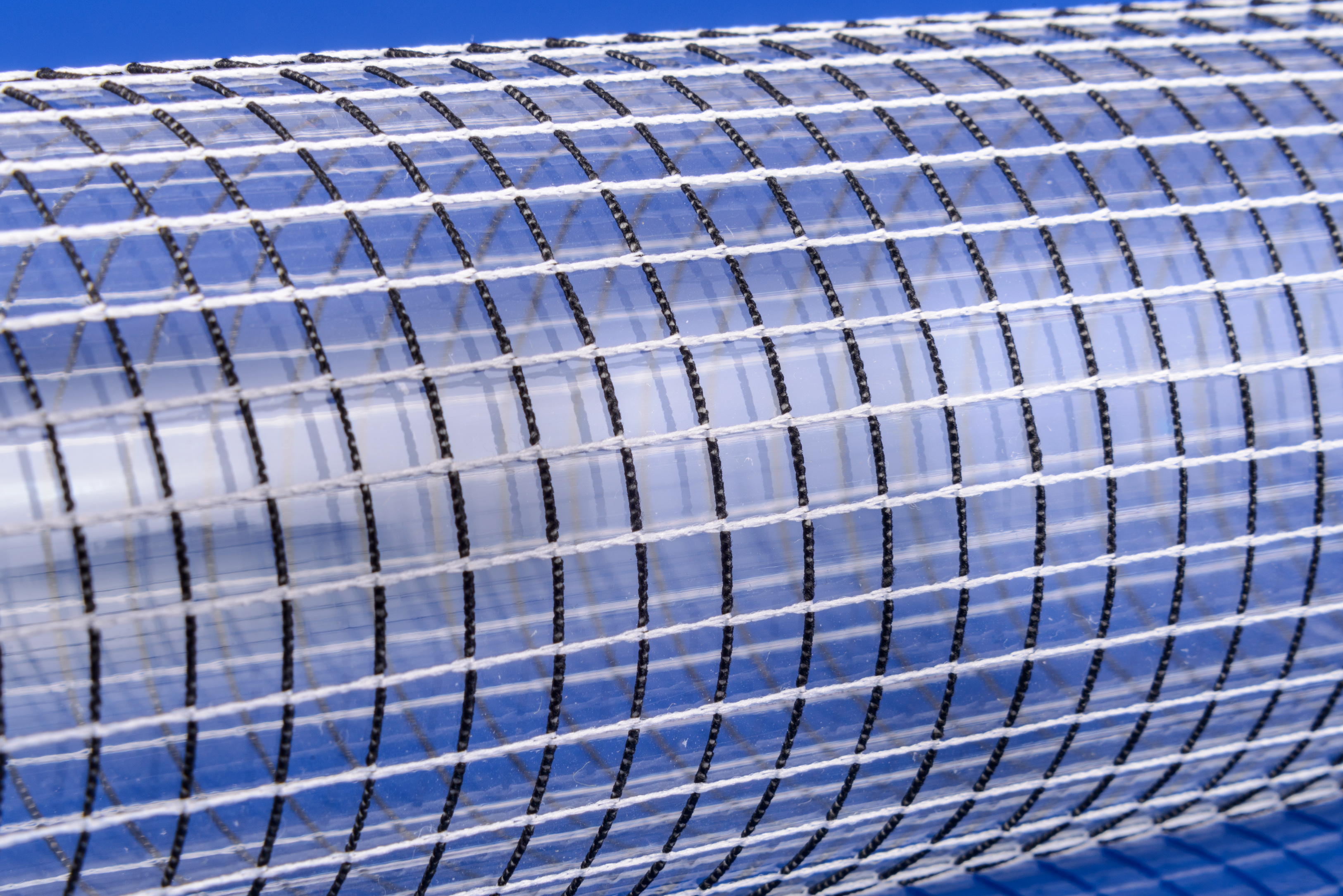 Eco Net on Clear PVC Tube